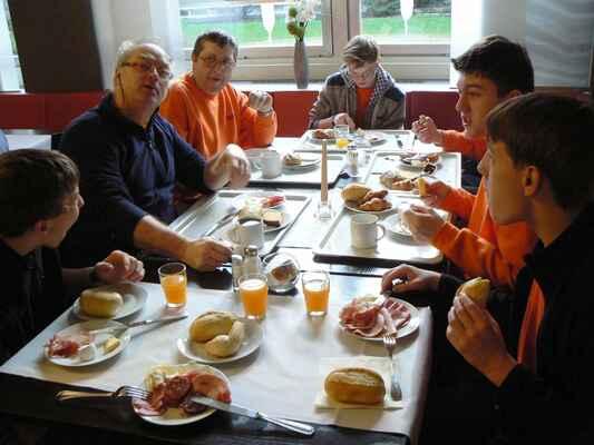 Velká snídaně