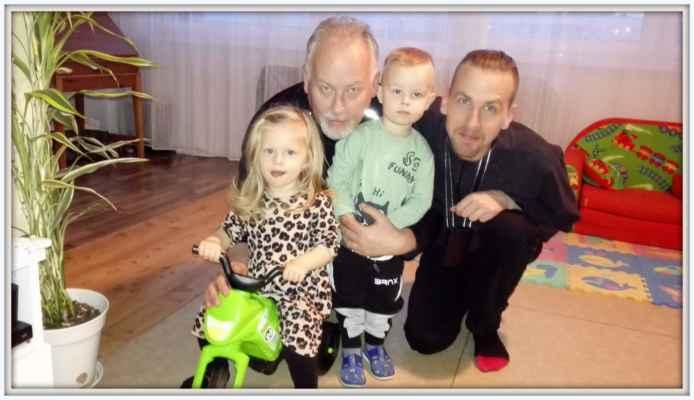 Tonička, Děda, Lukáš a Vítek