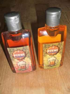 Pivní šampon s extrakty z pivních kvasnic a chmele Pivní sprchový gel s extrakty z pivních kvasnic a chmele