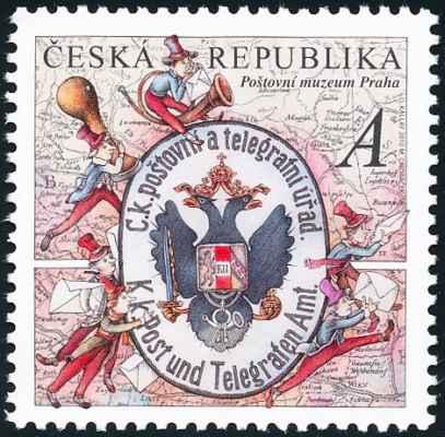 Nejkrásnější známka světa 2012 je z Česka. Poštovní skřítek 1 /Přerovnává dopisy./ Poštovní skřítek 2 /Razítkuje./ Poštovní skřítek 3 /Váží balíčky, lepí cedulky./ Poštovní skřítek 4 /Přepočítává peníze/ Vždyť jsem si to myslel, tady se ten poštovský člověk zase přepočítal o 1 halíř, musím to opravit! Poštovní skřítek 5 /Vyklepává depeši!/ Poštovní skřítek 6 /Telefonuje/ Haló, ministerstvo pošt? Tady poštovní šotek číslo sto jedenatřicet. Hlásím všechno v pořádku. Stop! Poštovní skřítek 7 Tak a jsme hotovi. Copak, páni, abychom si teď trochu zahráli karty? KAREL ČAPEK. Devatero pohádek: Pohádka pošťácká.