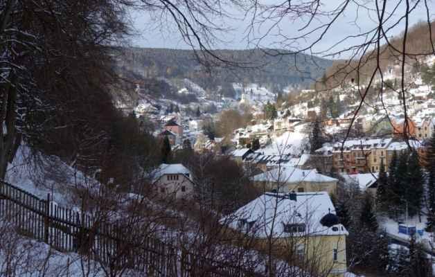 A konečně vidím město Jáchymov :o)))