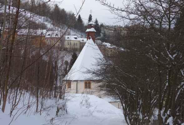 Kostel Všech svatých, tzv. Špitální kostel.