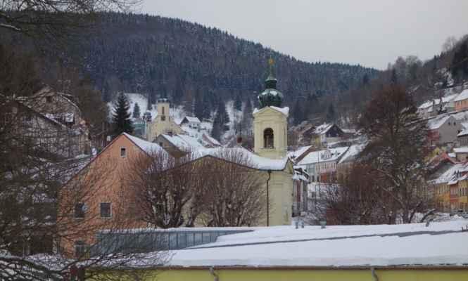 Kaple sv. Anny na dohled.