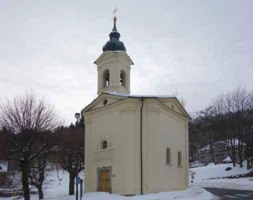 """Poblíž kaple sv. Anny se nacházel tzv. """"Chlebný trh"""", který tvořil střed města v 16. století."""
