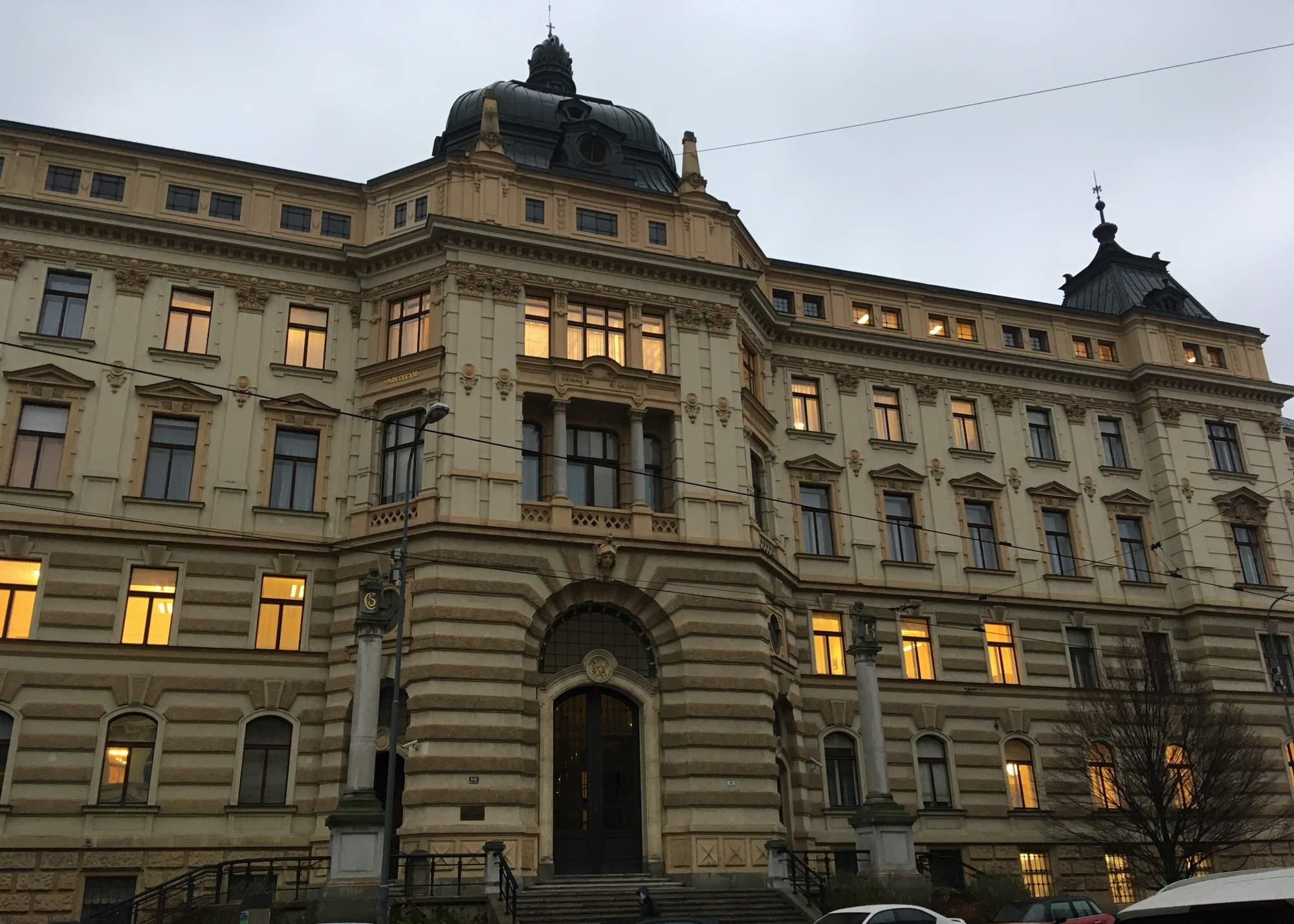 Krajský soud v Brně. Foto: Tereza Švecová
