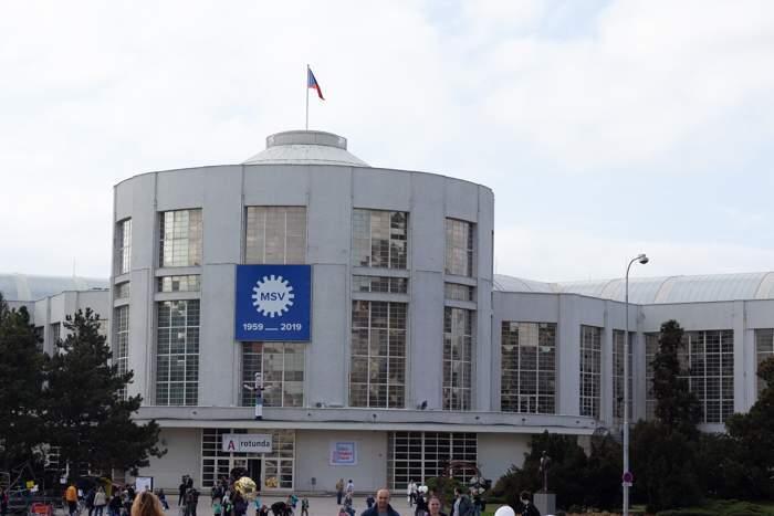 Pavilon A brněnského Výstaviště. Foto: Tereza Švecová