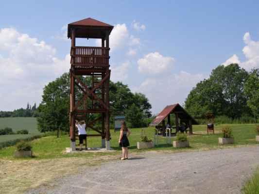 01 - Ostrava - Hošťálkovice - vyhlídková věž 01 - věž a přístřešek