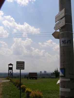 01 - Ostrava - Hošťálkovice - vyhlídková věž 06 - rozcestník