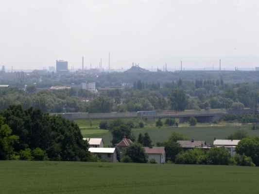 01 - Ostrava - Hošťálkovice - vyhlídková věž 11 - výhled na Ostravu