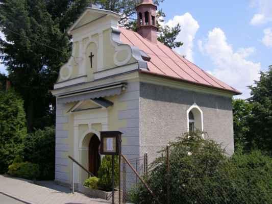 02 - Bobrovníky u Hlučína - kaple sv. Prokopa 02 - čelní pohled