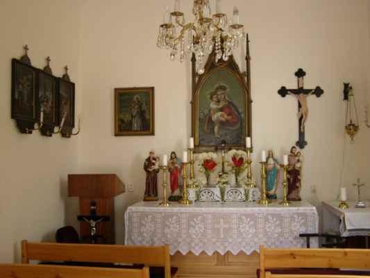 02 - Bobrovníky u Hlučína - kaple sv. Prokopa 03 - interiér