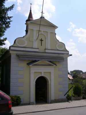 02 - Bobrovníky u Hlučína - kaple sv. Prokopa 06 - čelní pohled