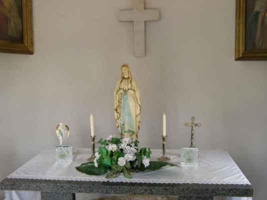 03 - Hlučín - kaple Panny Marie 06 - interiér