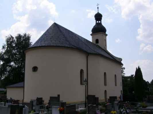 07 - Hlučín - kostel sv. Markéty 05 - zadní pohled