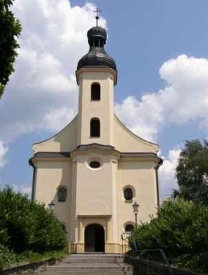 07 - Hlučín - kostel sv. Markéty 11 - čelní pohled