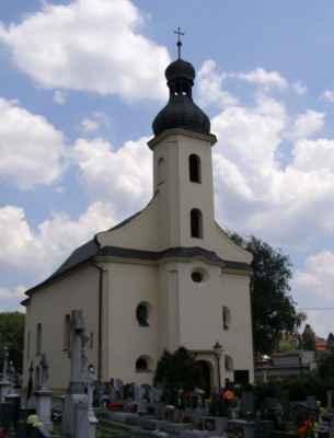 07 - Hlučín - kostel sv. Markéty 12 - čelní pohled