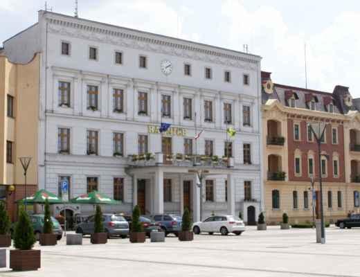 10 - Hlučín - Mírové náměstí 05 - radnice