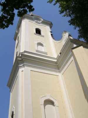 11 - Hlučín - kostel sv. Jana Křtitele 04 - věž kostela