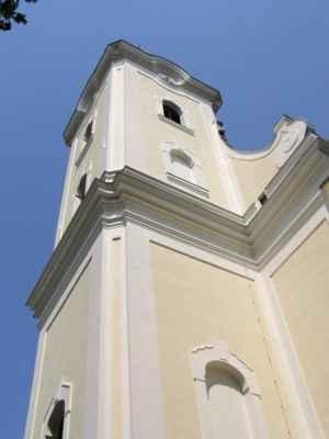 11 - Hlučín - kostel sv. Jana Křtitele 08 - věž kostela