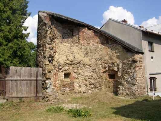 13 - Hlučín - hradby 07 - bašta v ulici na Valech