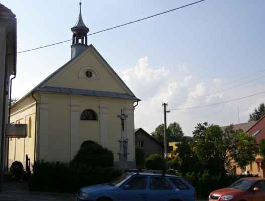 20 - Děhylov - Kaple Navštívení Panny Marie 00 - čelní pohled