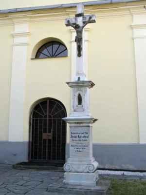 20 - Děhylov - Kaple Navštívení Panny Marie 03 - kříž